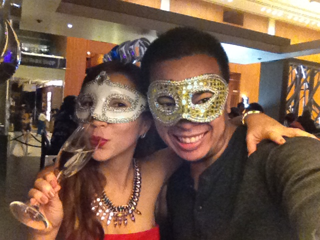 NY masquerade party
